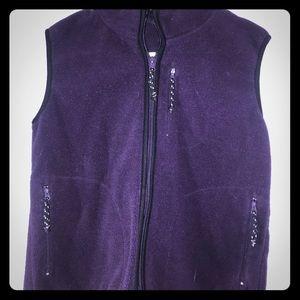 💕Free Tech Dark Purple Girls Vest
